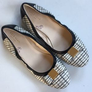NWOT Cole Haan leather flats
